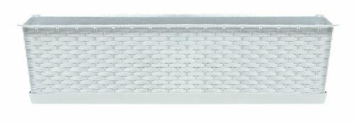 Truhlík s miskou RATOLLA CASE bílý 48,9cm
