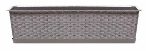 Truhlík s miskou RATOLLA CASE mocca 48,9cm