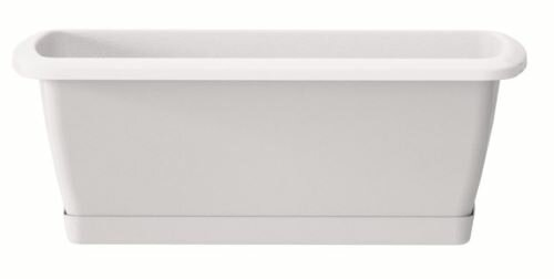 Truhlík s miskou RESPANA SET bílý 49,0 cm