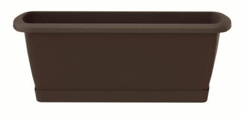 Truhlík s miskou RESPANA SET hnědý 49,0 cm