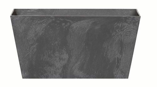 Truhlík TUBUS CASE EFFECT antracit 40 cm