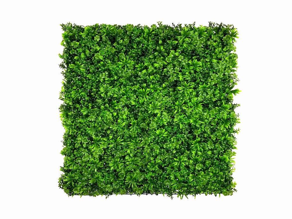 Umelý živý listnatý panel Vegetation - 50x50cm
