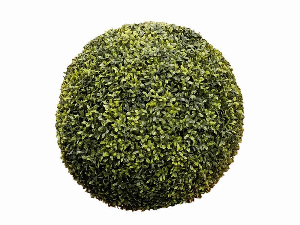 Umelé živé Buxusové gule 37 cm - sada 2 ks