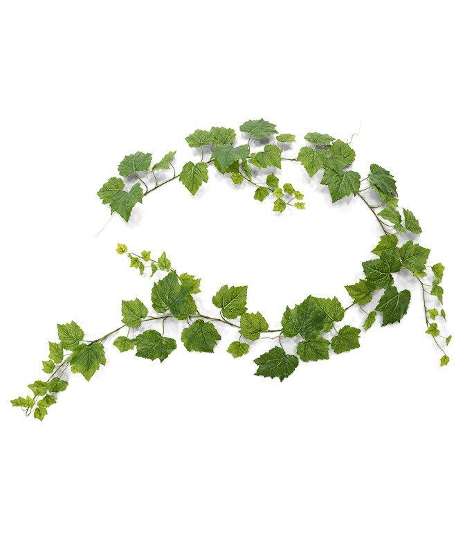 Umelá zelená úponka hrozno 180 cm