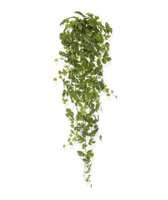 Umelá zelená závesná rastlina Javor 130 cm