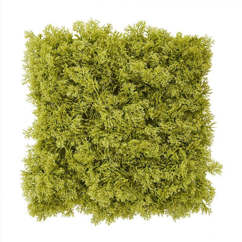 Umělá mechová podložka 25x25 cm svěže zelená