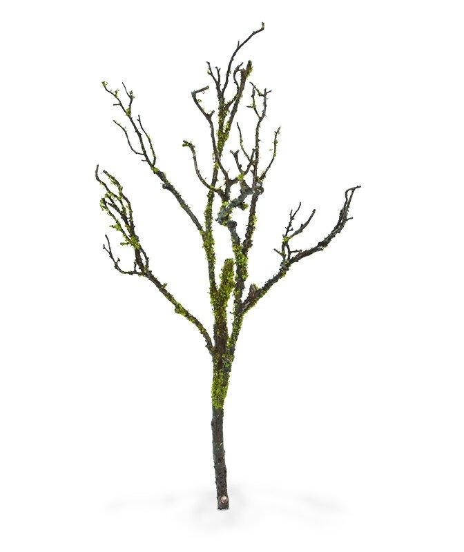 Umelá drevená machová vetva 70 cm