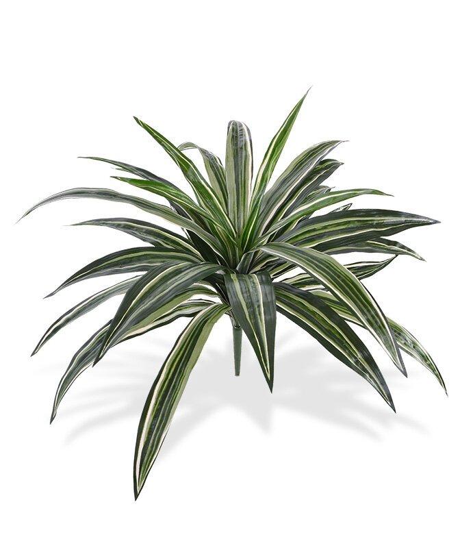 Umělá kytice zelená Draceana 40 cm