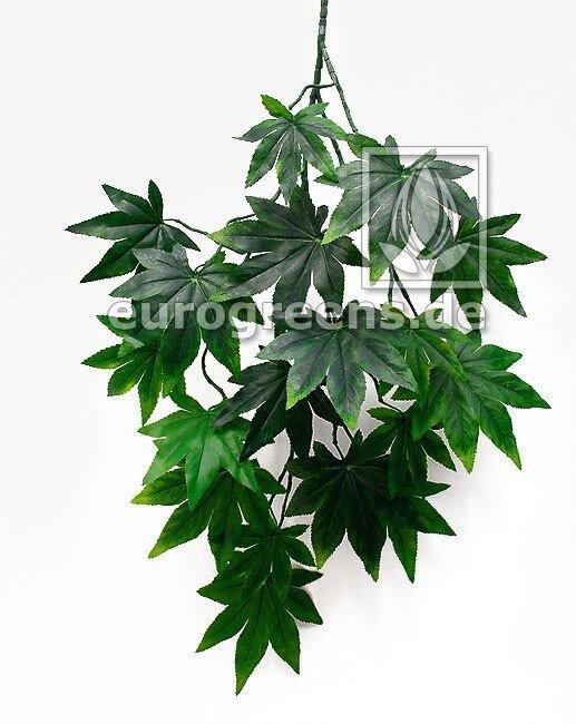 Umelá vetva Javor zelený 80 cm