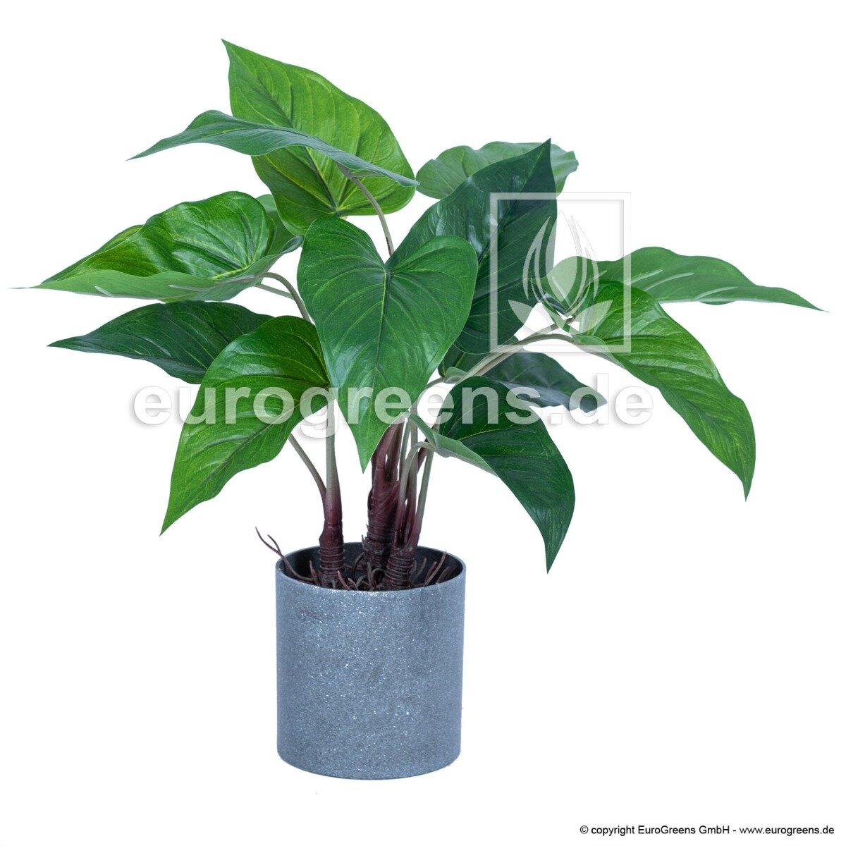 Umelá rastlina Antúria zelená 40 cm