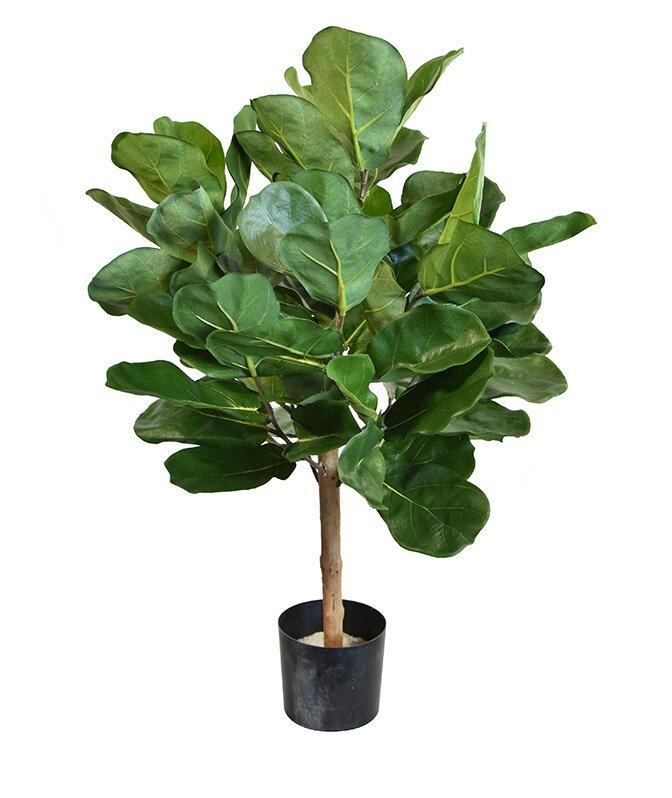 Umělý strom Fíkovník lýrovitolistý 75 cm