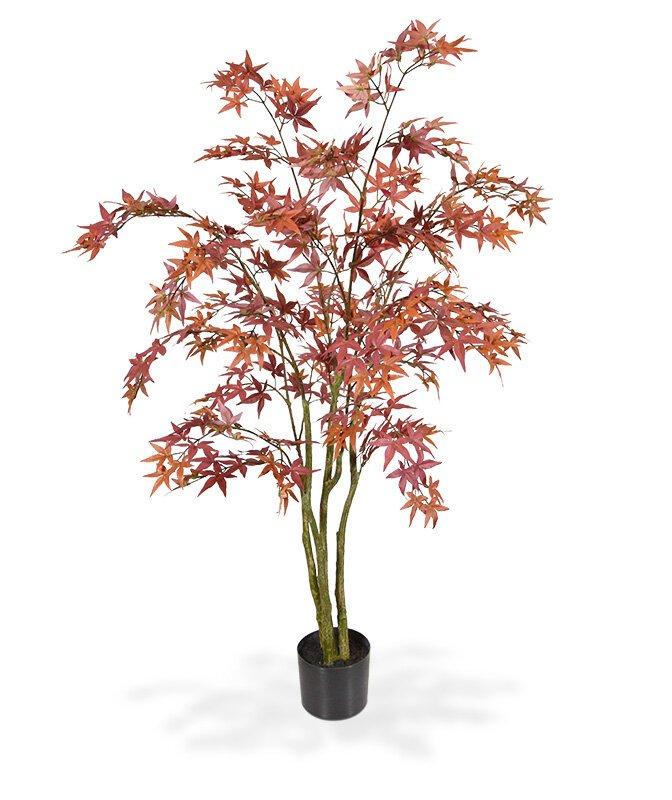 Umělý strom Javor burgundy 150 cm