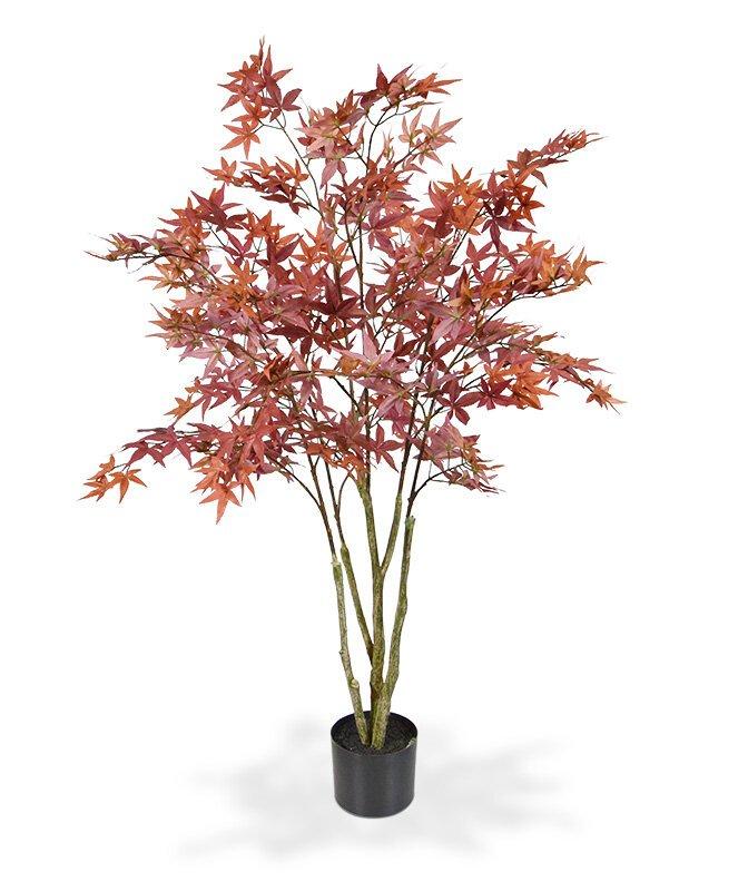 Umělý strom Acer 120 cm bordový