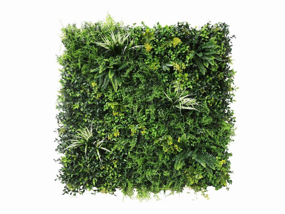 Umelý listnatý panel Vegetácia - 100x100cm