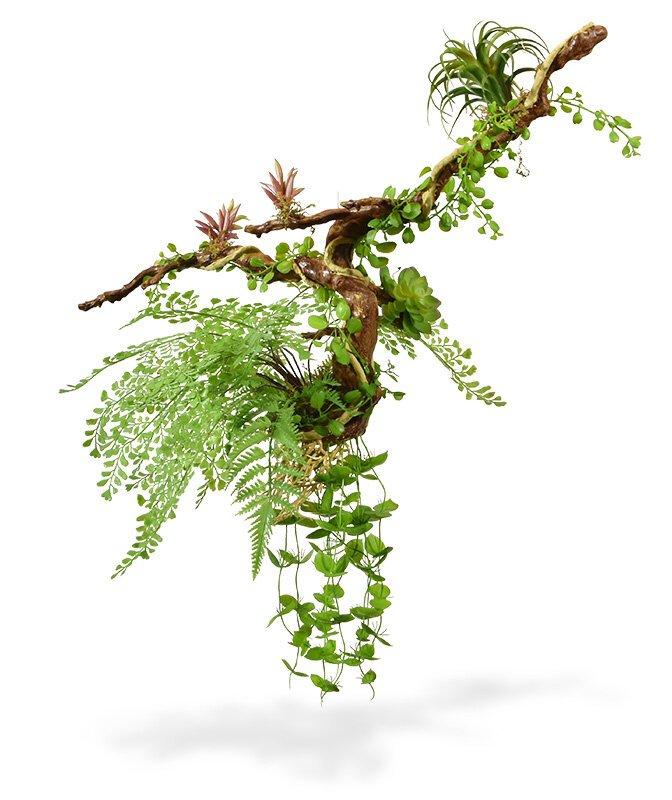 Umělá sukulentní závěsná rostlina na liane 90 cm