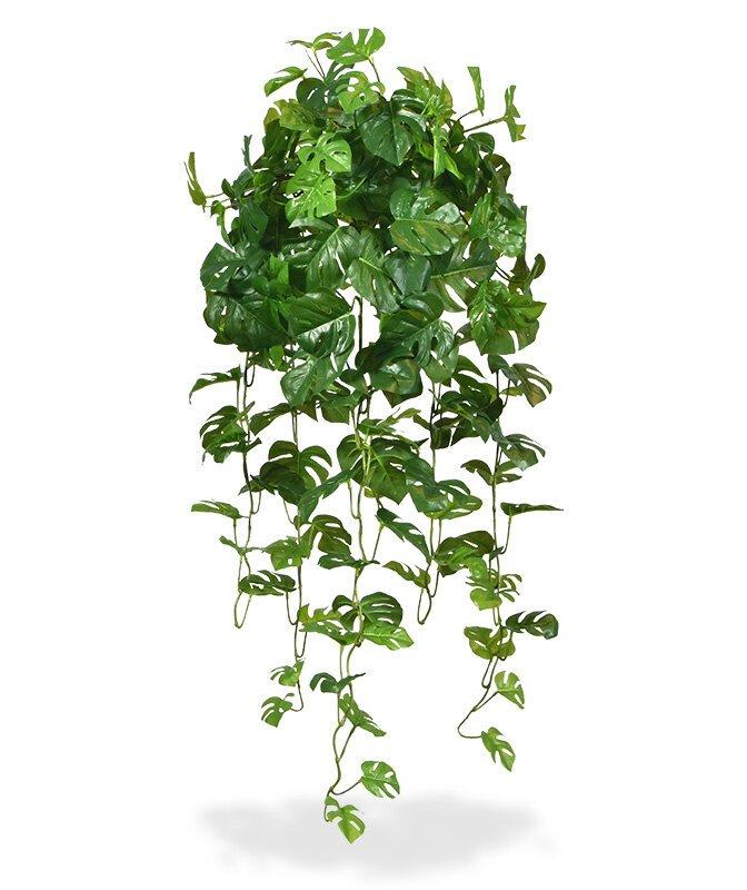 Umelá závesná rastlina Monstera 80 cm