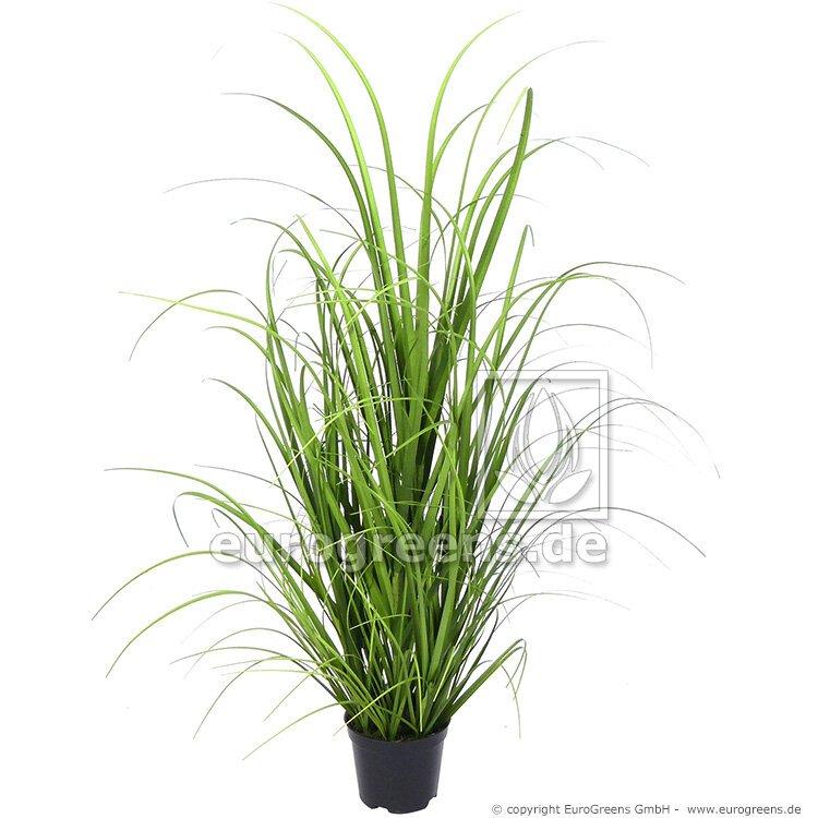 Umelý zväzok trávy Miskant obrovský v kvetináči 60 cm