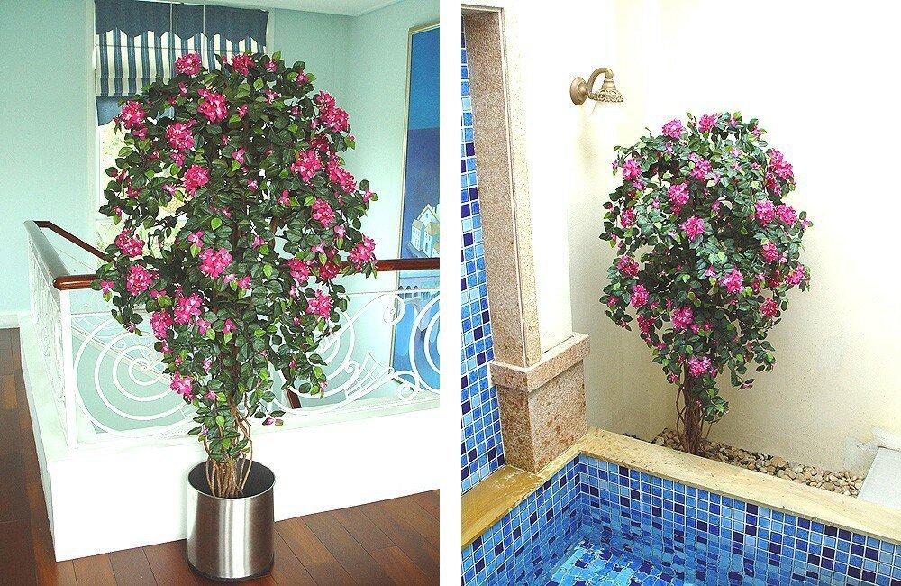 Umělá rostlina Bougainvillea 120cm