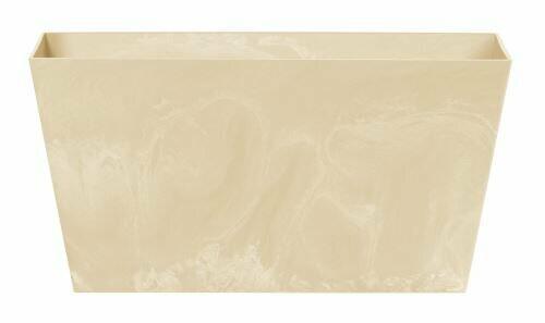 Truhlík TUBUS CASE BETON EFFECT pískový 60cm