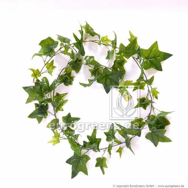 Umelá girlanda Brečtan zelený 180 cm