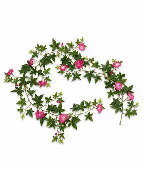 Umelá girlanda Petunia ružová 180 cm
