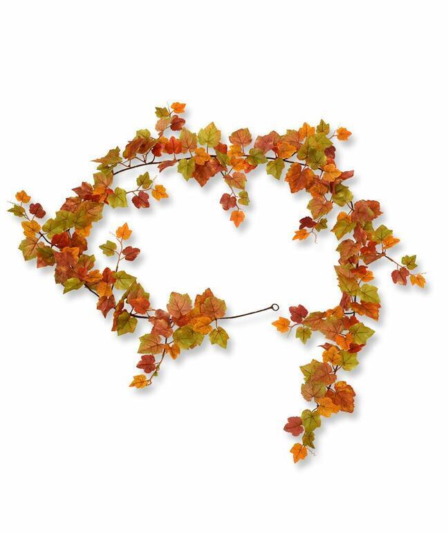 Umelá girlanda Vinič hroznorodý jesenná 180 cm