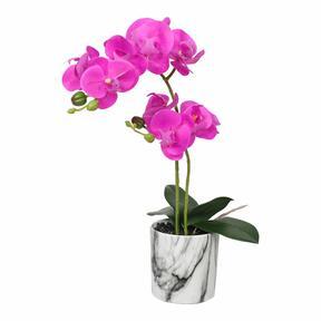 Umelá orchidea cyklámenová 49 cm