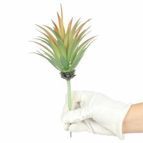 Umelá rastlina Agáve oranžové 18 cm