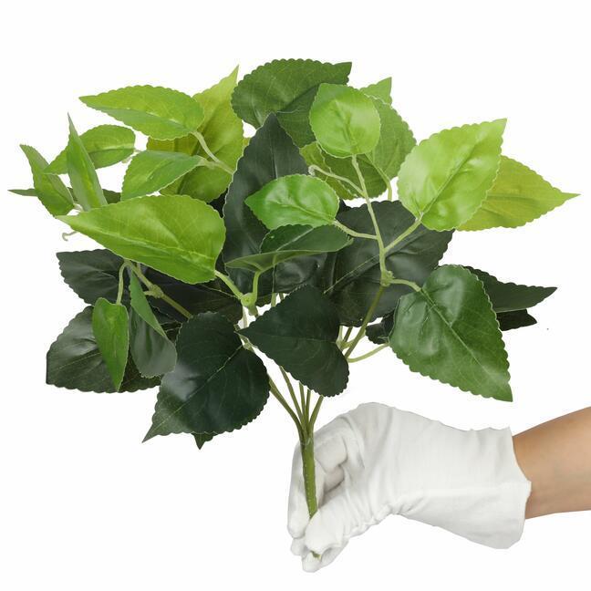 Umelá rastlina Bazalka zelená 25 cm