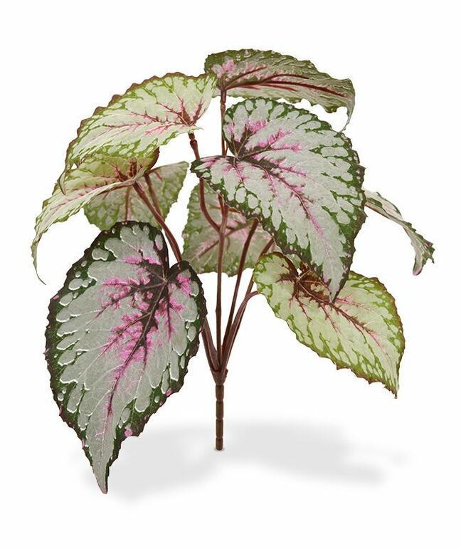 Umelá rastlina Begónia 25 cm