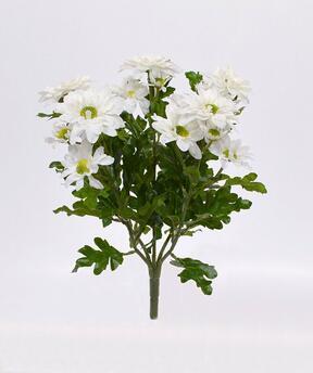 Umelá rastlina Chryzantéma krémová 35 cm