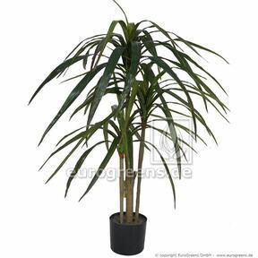 Umelá rastlina Dracéna lemovaná 100 cm