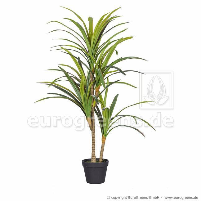 Umelá rastlina Dracéna lemovaná 110 cm