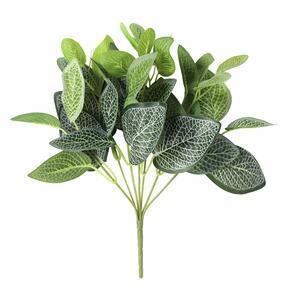 Umelá rastlina Fitónia biela 25 cm
