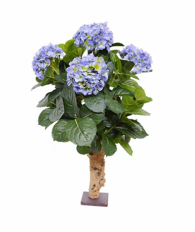 Umelá rastlina Hortenzia modrá 65 cm