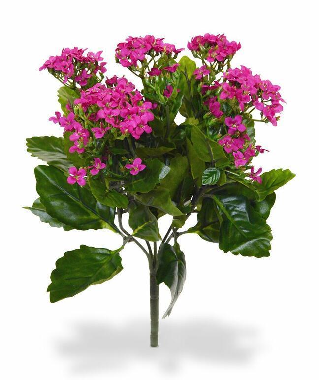 Umelá rastlina Kalanchoa ružová 30 cm