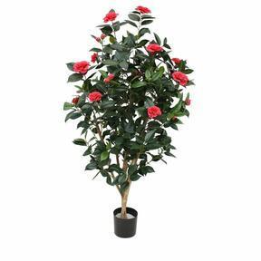 Umelá rastlina Kamélia ružová 150 cm