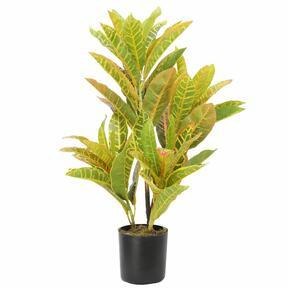 Umelá rastlina Krotónovec strakatý 55 cm