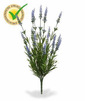 Umelá rastlina Levanduľa modrá 50 cm