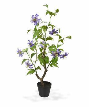 Umelá rastlina Mučenka fialová 90 cm