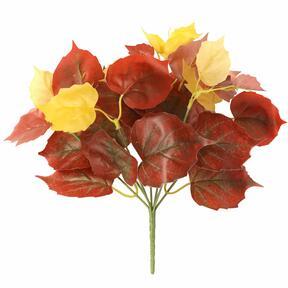 Umelá rastlina Pavinič červený 25 cm