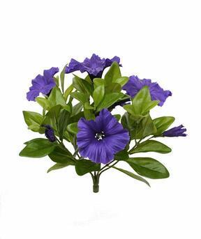 Umelá rastlina Petúnia fialová 25 cm