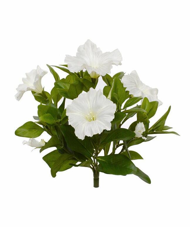 Umelá rastlina Petúnia krémová 25 cm