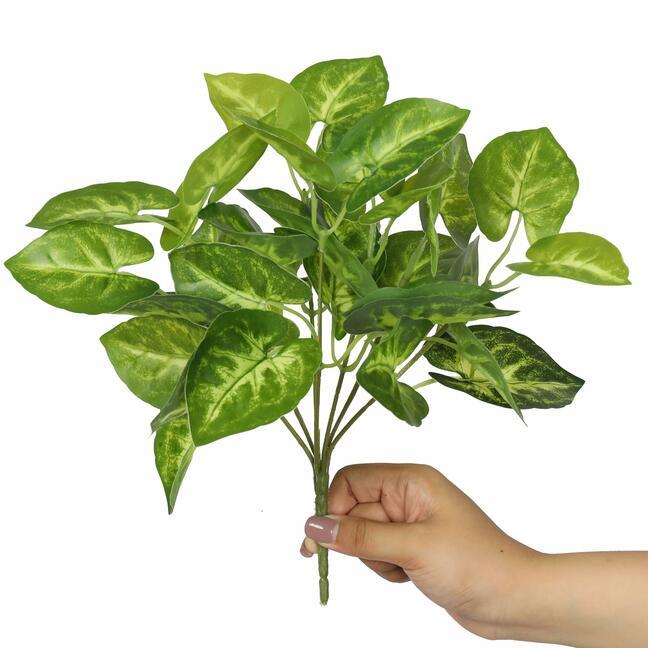 Umelá rastlina Taro Araceae 25 cm