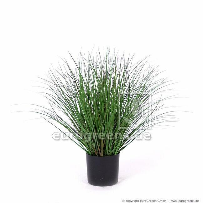 Umelá tráva Jačmenica piesočná v kvetináči 50 cm