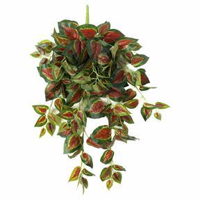 Umelá úponka Bazalka červená 80 cm