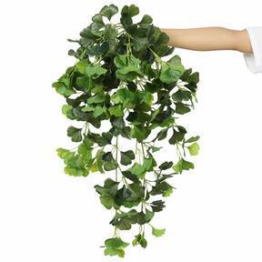 Umelá úponka Ginko zelená 80 cm