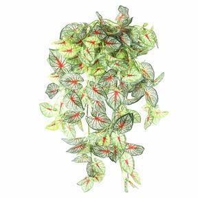 Umelá úponka Kaládium farebná 80 cm