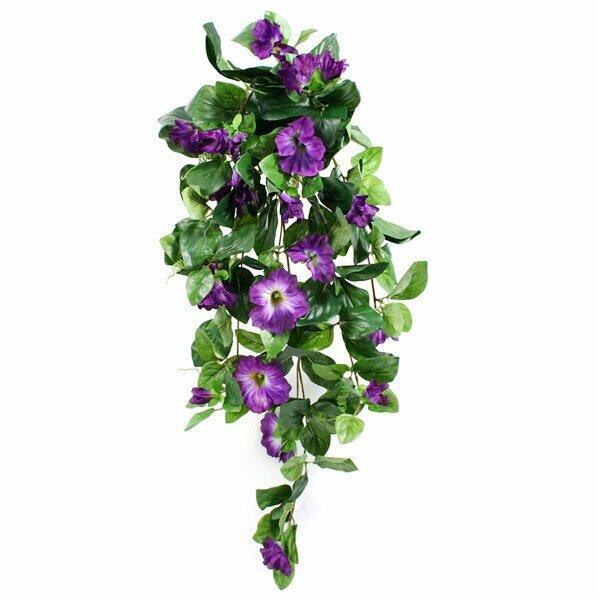 Umelá úponka Petúnia fialová 80 cm