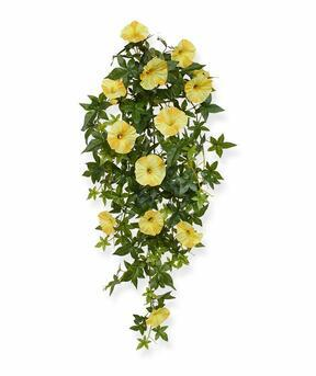 Umelá úponka Petúnia žltá 70 cm